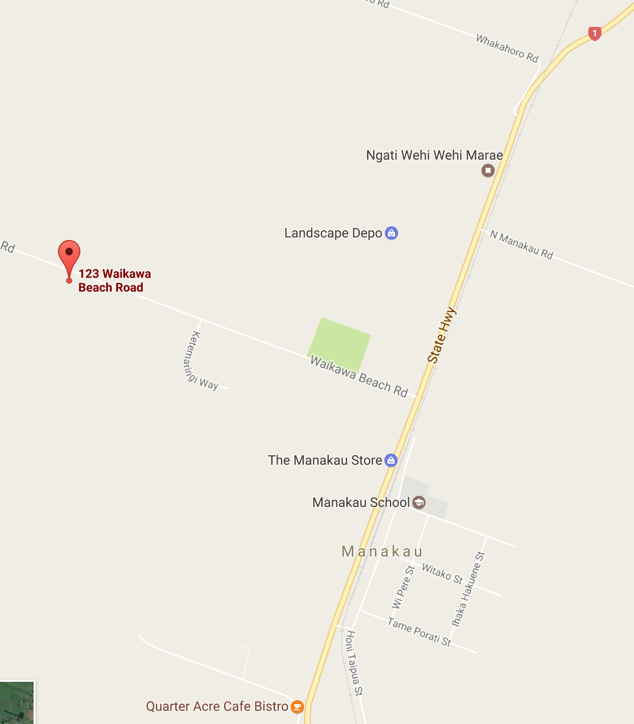 Find Us On The Map Waikawa Blueberries - Find us map